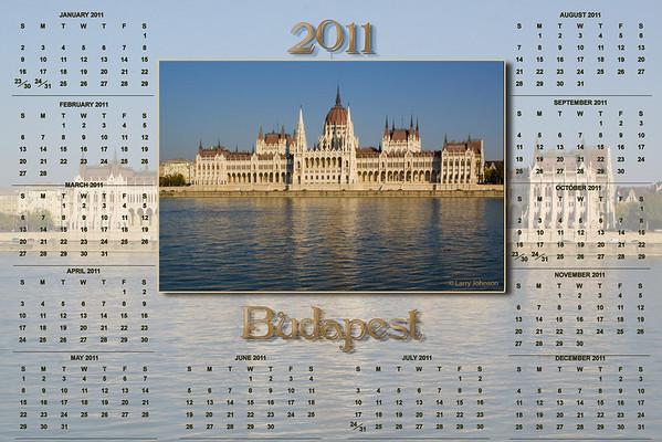 Budapest Calendar 2011