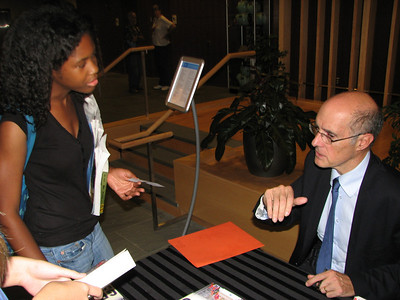 """Obama and the World"": Strobe Talbott Lecture and Book Signing, September 2009"