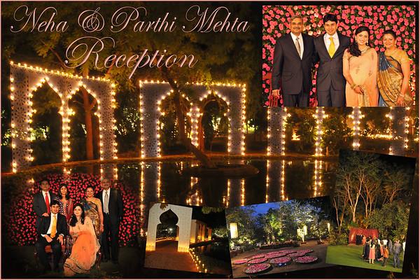 Reception of Parthiv & Neha Mehta at Ahmedabad, Dec'09