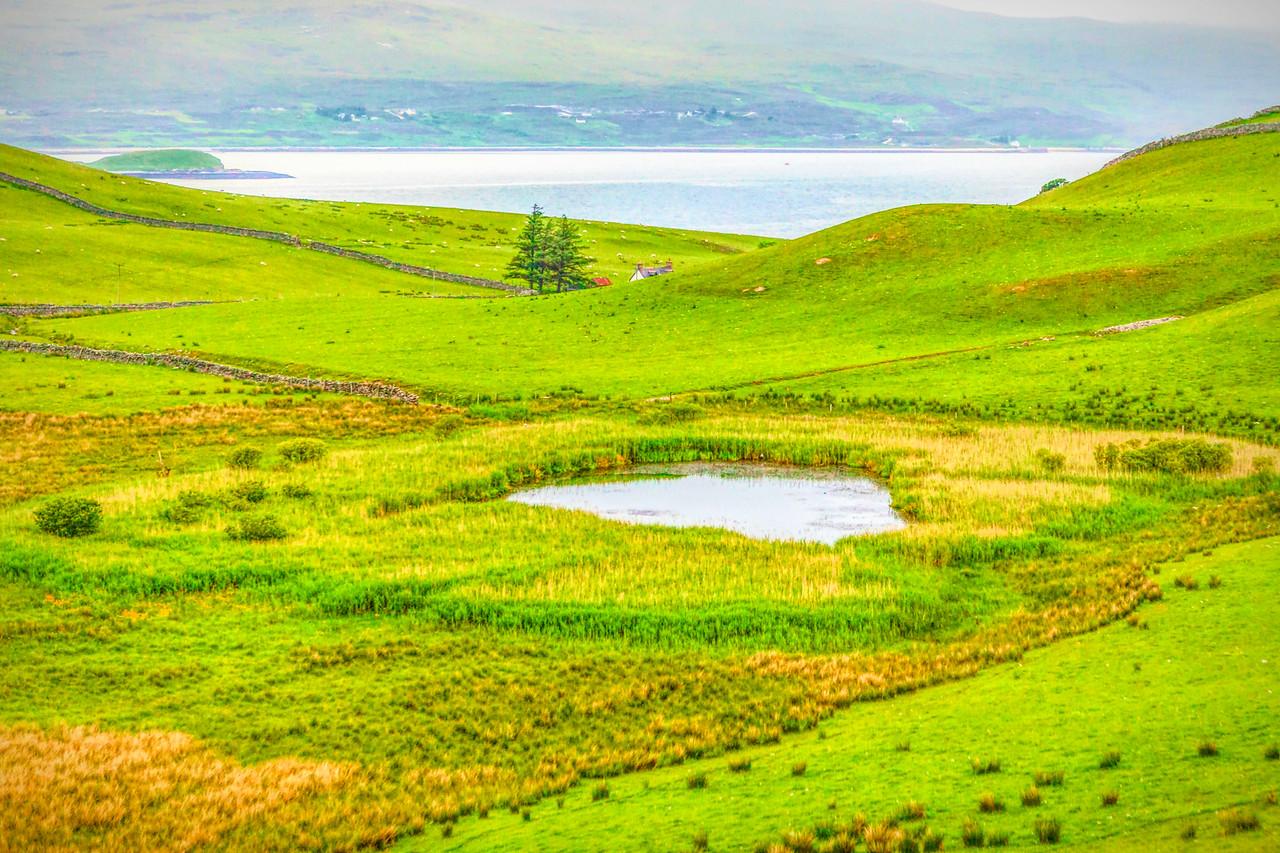 苏格兰美景,一路美景