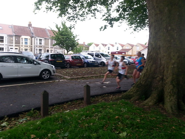 5k race 14th June 2016 + 1 mile junior race