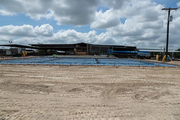 Sale Barn Construction July 2020