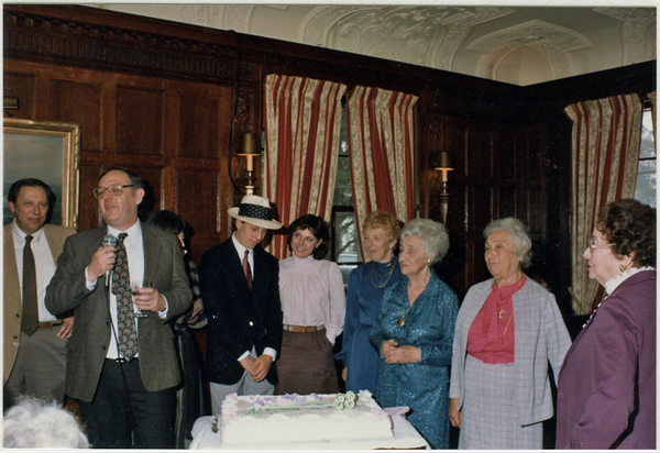 1985 03 Bertha's 85th Birthday Party