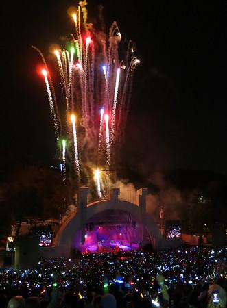 Coldplay, Hollywood Bowl, Los Angeles