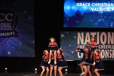 12. Grace Christian School Valrico FL Sapphire - Large Youth