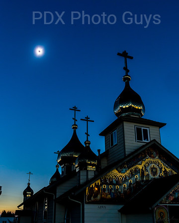 Eclipse from Russian Orthodox Church