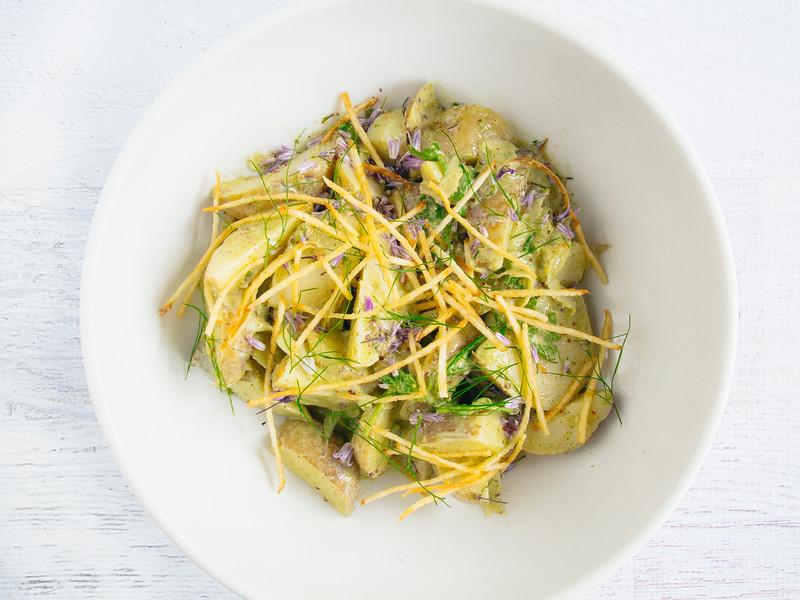 warm potato salad green garlic dressing-2.jpg