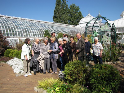 Seniors Ministry  Phipps Trip - October 25, 2012