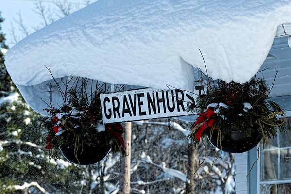 Winter in Gravenhurst