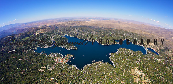 Lake Arrowhead Aerial Photos