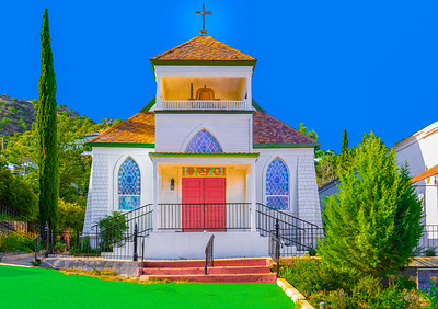 'St. John's Episcopal Church,' Bisbee, AZ, 2019.