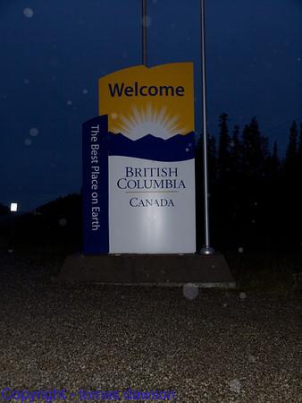 Day 32 - Watson Lake to Dawson Creek