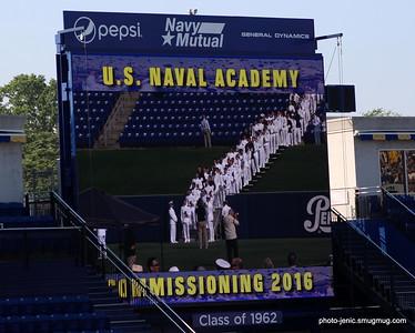 USNA Commissioning/Graduation
