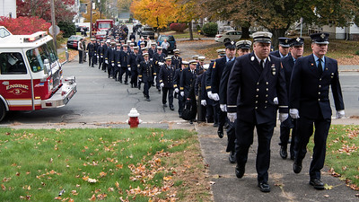 2018-11-02 Funeral for Lt. Ed Paris