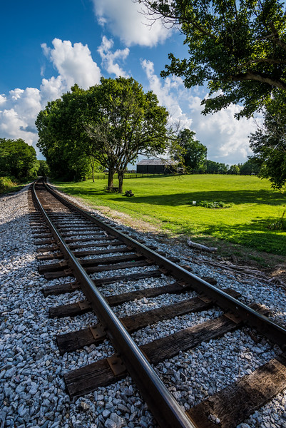 Railroad Track - Kentucky Bluegrass Horse Country