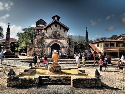 La Romana - Ancient village Altos de Chavón - St. Stanislaus Church