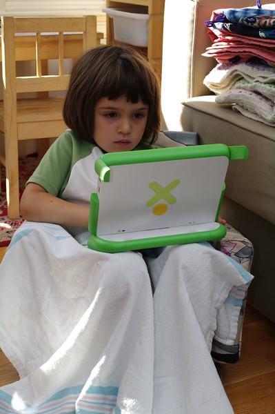 Guen's OLPC XO.