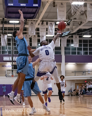 Broughton varsity basketball vs Green Hope. November 20, 2018, MRC_8417