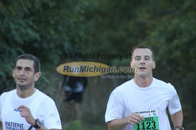 7 Mile Mark - 2012 Brooksie Way Half Marathon
