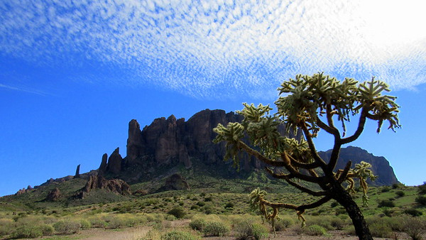 Superstion Mountains. The Search for the Lost Dutchman's Mine, Part 1