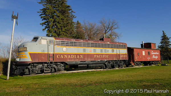 Canadian Pacific Engine 4038 - Missadosa, MB
