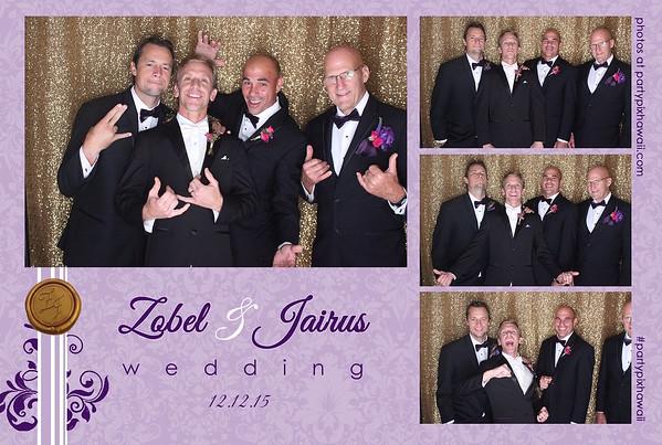 Jairus & Zobel's Wedding (LED Open Air Photo Booth)