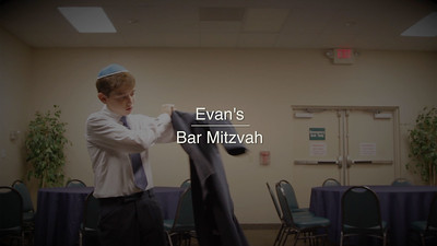 Evan's Bar Mitzvah
