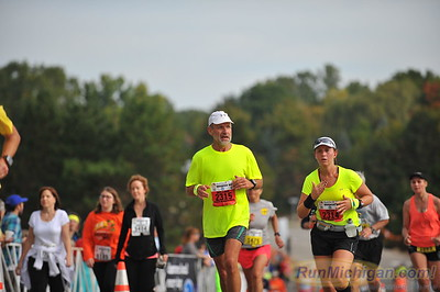 Finish, Gallery 1 - 2014 HealthPlus Brooksie Way Half Marathon