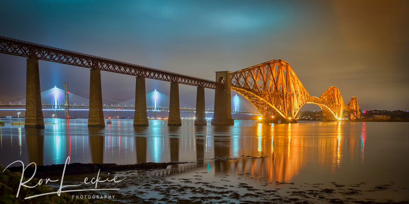 Forth Rail Bridge, Edinburgh, Scotland