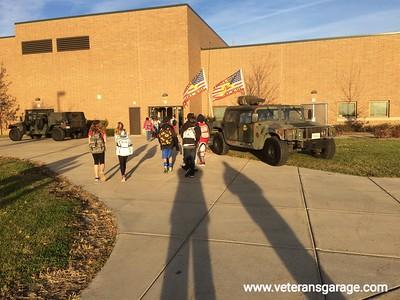 11-11-16 Minooka School - Veterans Day
