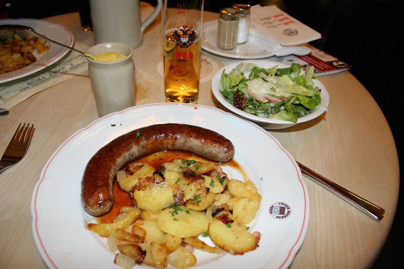 Cologne, Germany  - Lunch at Die Fruhe