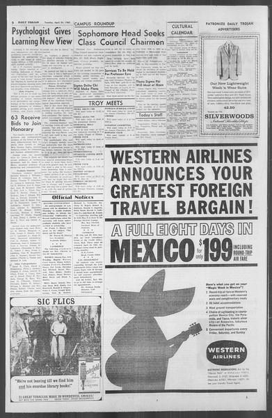 Daily Trojan, Vol. 53, No. 111, April 24, 1962