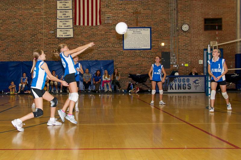 Hugo 5th Grade Volleyball  2010-10-02  4.jpg