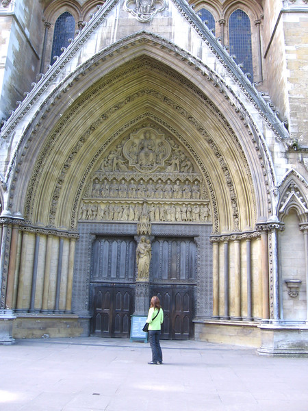 Westminster Abbey - North Door