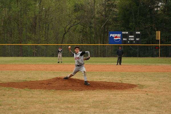 JV Baseball vs. LCA