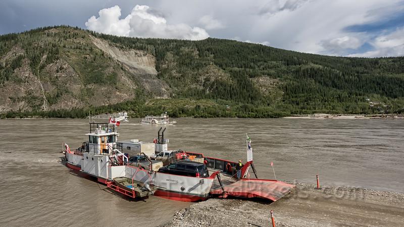 George Black Ferry at Dawson City