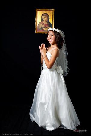Alanna's 1st Communion