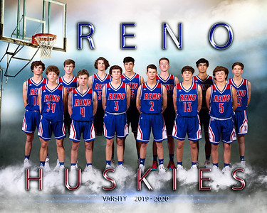 Reno Boys Basketball Portraits