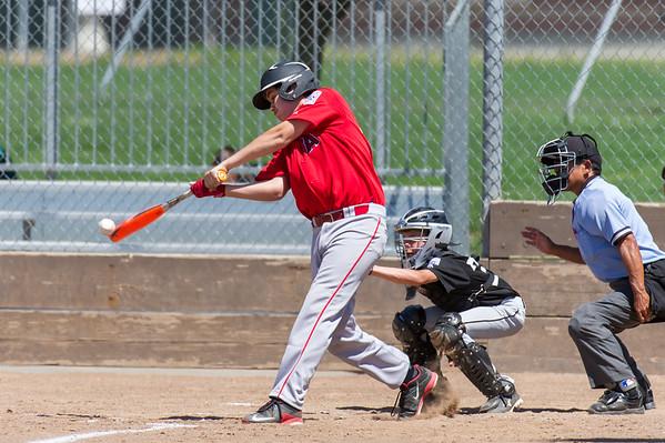 Roseville West Little League Jr. Angels vs Giants 5-14-16