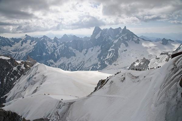D7 - Aiguille du Midi og Chamonix