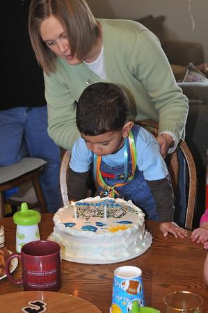 AJ's Second Birthday