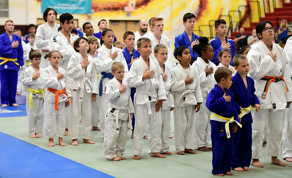 7/20/2019 Mike Orazzi | Staff The opening ceremony for the Nutmeg Games Judo held at New Britain High School on Saturday.