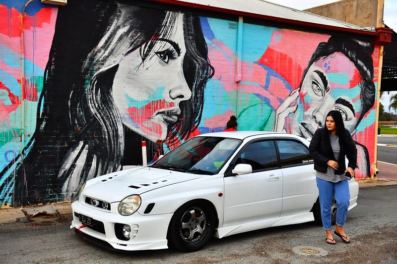 Aleisha Car Shoot