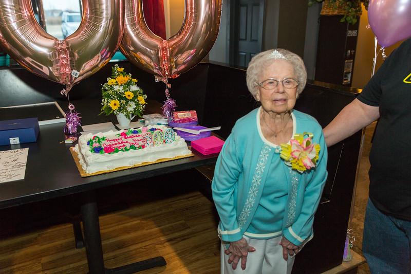 Herberta's 100th Birthday