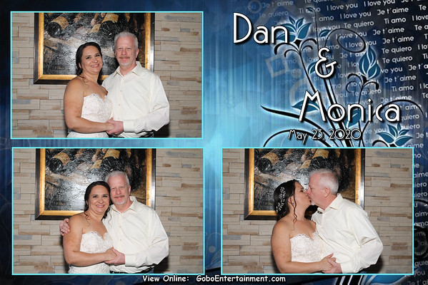 20200523 Dan & Monica's Wedding Photo Booth