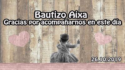 Bautizo Aixa