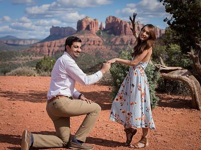 Surprise Sedona Engagement