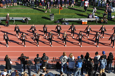 Cheerleaders at 2012 Turkey Bowl