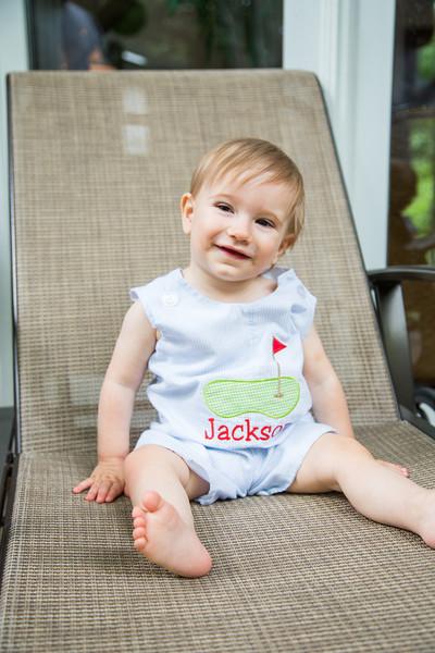 Jackson is 1!
