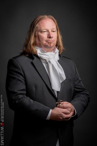Brad - Anachronistic Covid Portrait